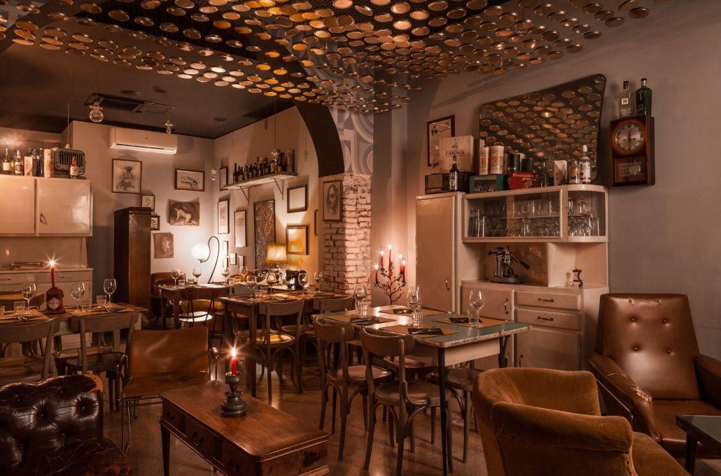 Officine Beat, ristorante e pub a San Lorenzo, sala ristorante